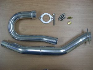 YFZ450 Pipe with Fasteners