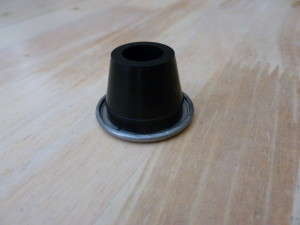Rubber bushing with washer-04